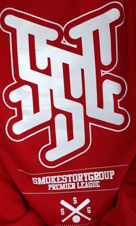 SSG SMOKE STORY BLUZA PREMIER LEAGUE RED