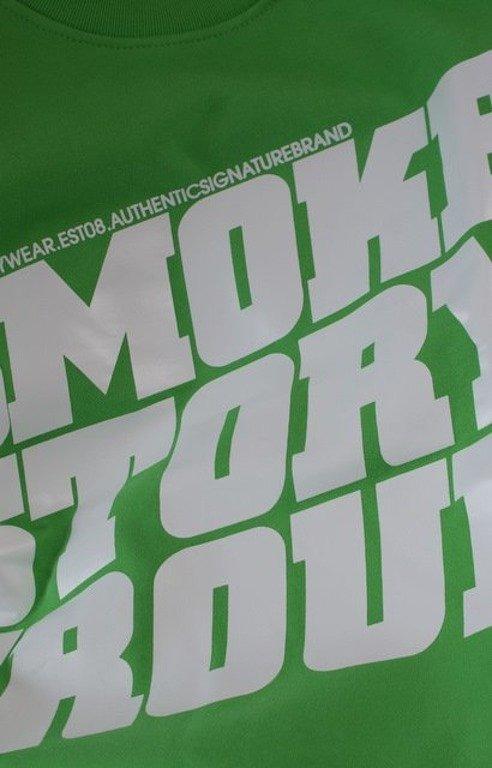 SSG SMOKE STORY BLUZA SM GROUP GREEN