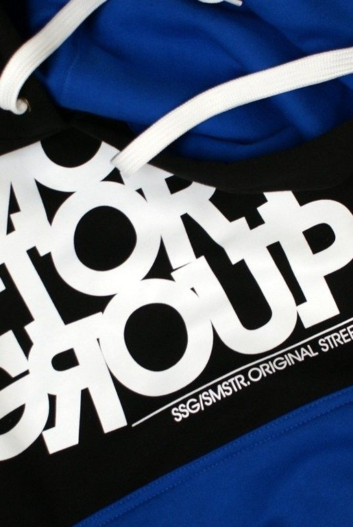 SSG SMOKE STORY GROUP BLUZA SMG LINE BLACK