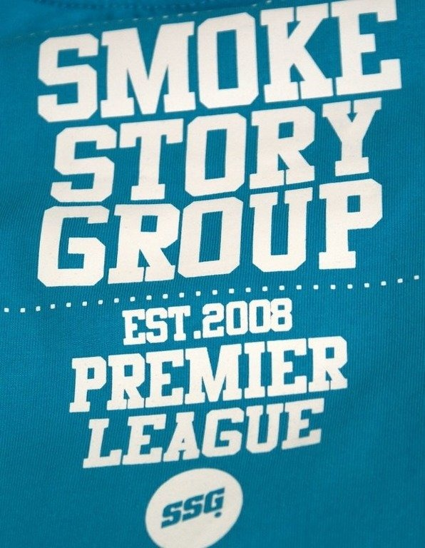 SSG SMOKE STORY GROUP KOSZULKA BASEBALL BLUE