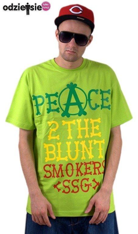 SSG SMOKE STORY GROUP KOSZULKA PEACE GREEN