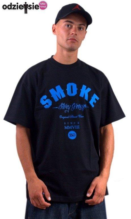 SSG SMOKE STORY GROUP KOSZULKA SMOKE BLACK