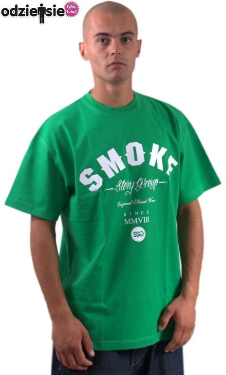 SSG SMOKE STORY GROUP KOSZULKA SMOKE GREEN