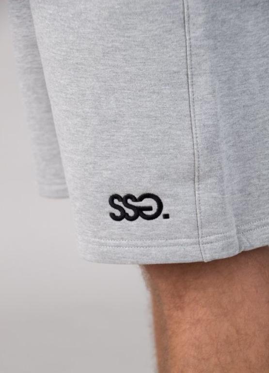 SSG Smoke Story Group Krótkie Spodenki Dresowe Logo Classic Melange