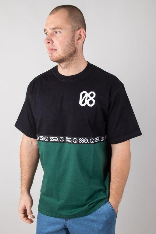 SSG T-SHIRT 08 LINE BLACK-GREEN