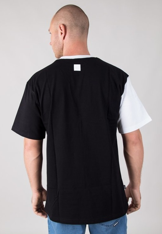 SSG T-SHIRT HORIZONTAL CUT WHITE-BLACK
