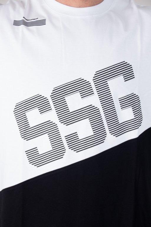 SSG T-SHIRT SSG BOTTOM COLOR WHITE