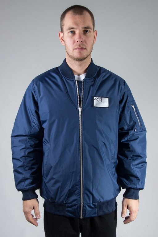 SSG WINTER JACKET FLAYERS BASEBALL NAVY