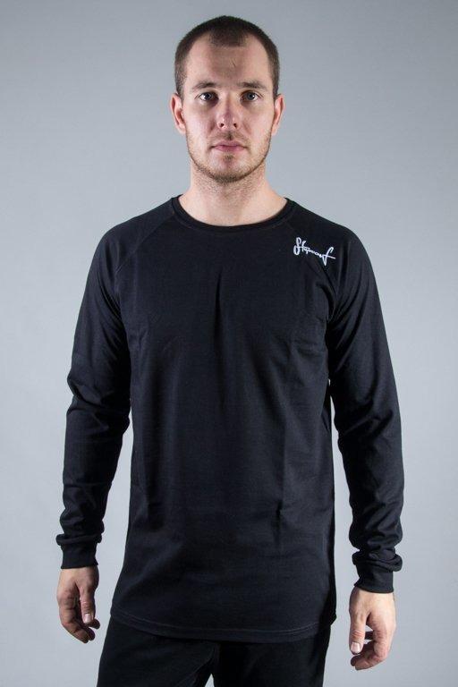 STOPROCENT LONGSLEEVE BASE BLACK