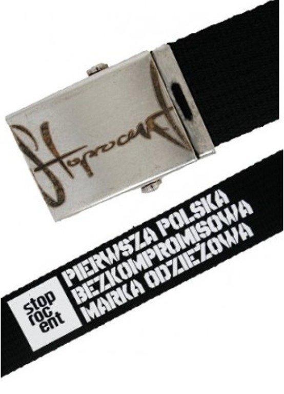 STOPROCENT PASEK PARCIARNY CZARNY 115 CM