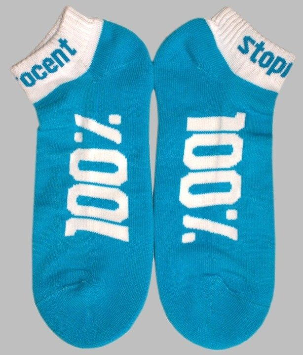 STOPROCENT SKARPETKI 100% BLUE