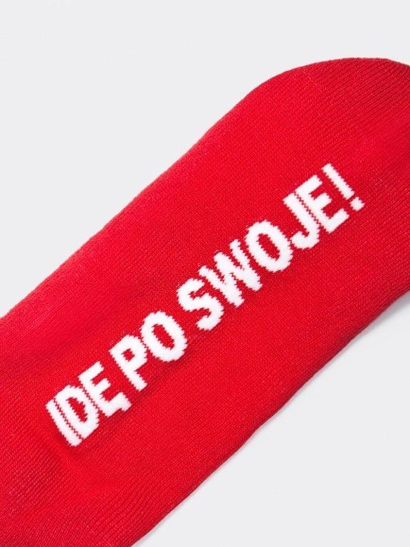 STOPROCENT SOCKS SHORT SWOJE RED