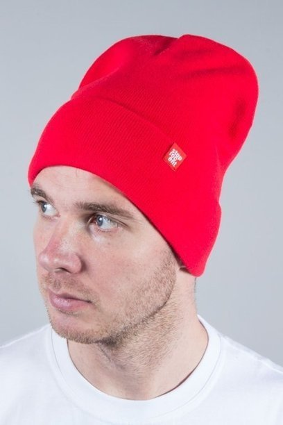 STOPROCENT WINTER CAP LONG RED