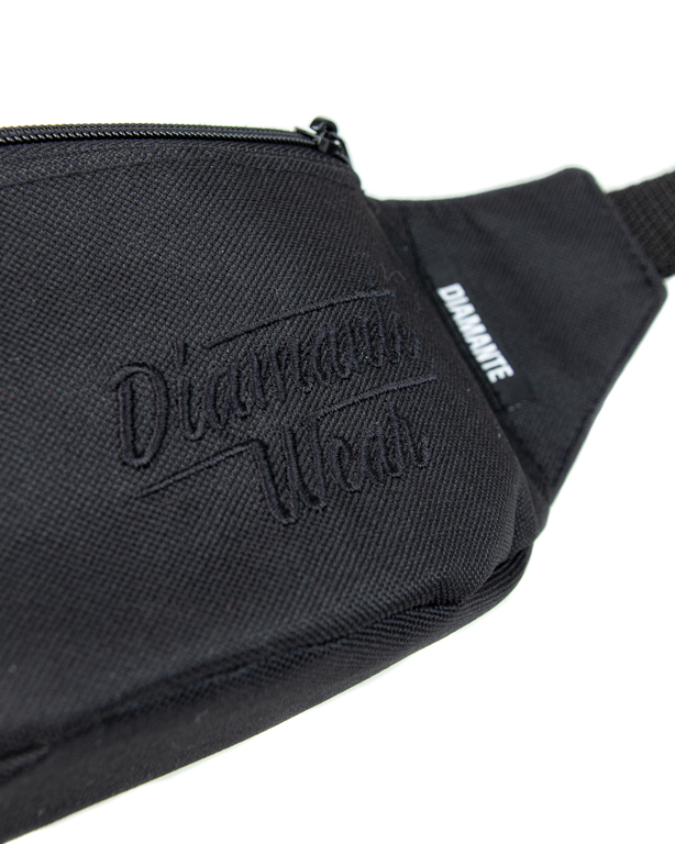 Saszetka Diamante Wear Diamante Small Logo Black-Black