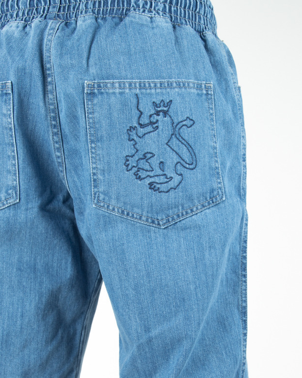 Spodenki Dudek P56 Jeans Lion Light