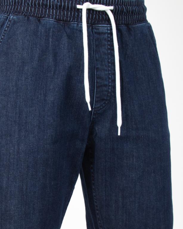 Spodenki Jeansowe Prosto Ilusion Navy