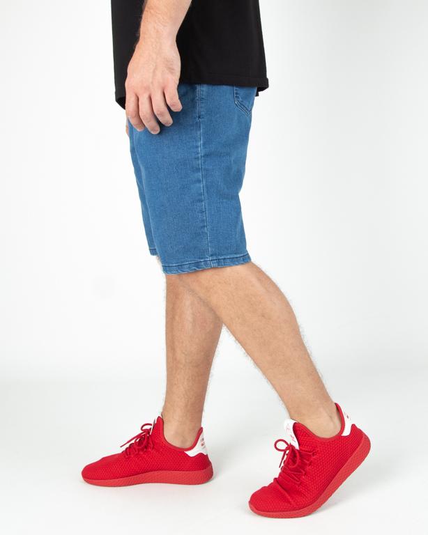 Spodenki New Bad Line Jeans Icon Light
