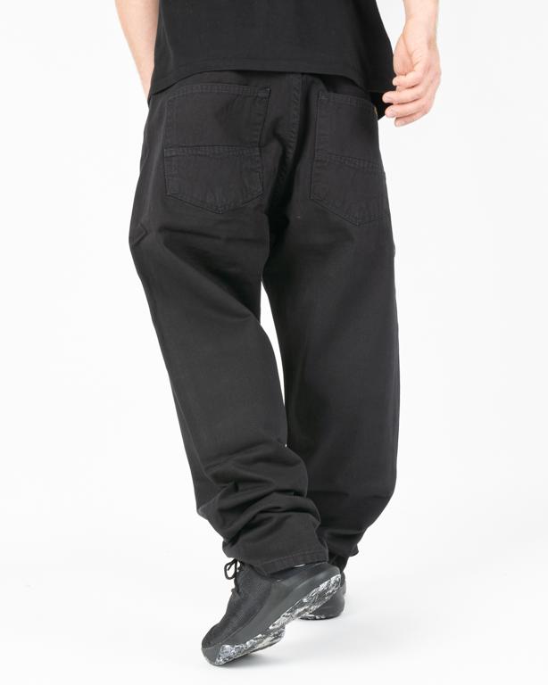Spodnie Chino Baggy Mass Slang Black