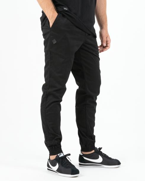 Spodnie Chino Jogger Ganja Mafia Gm Logo Black