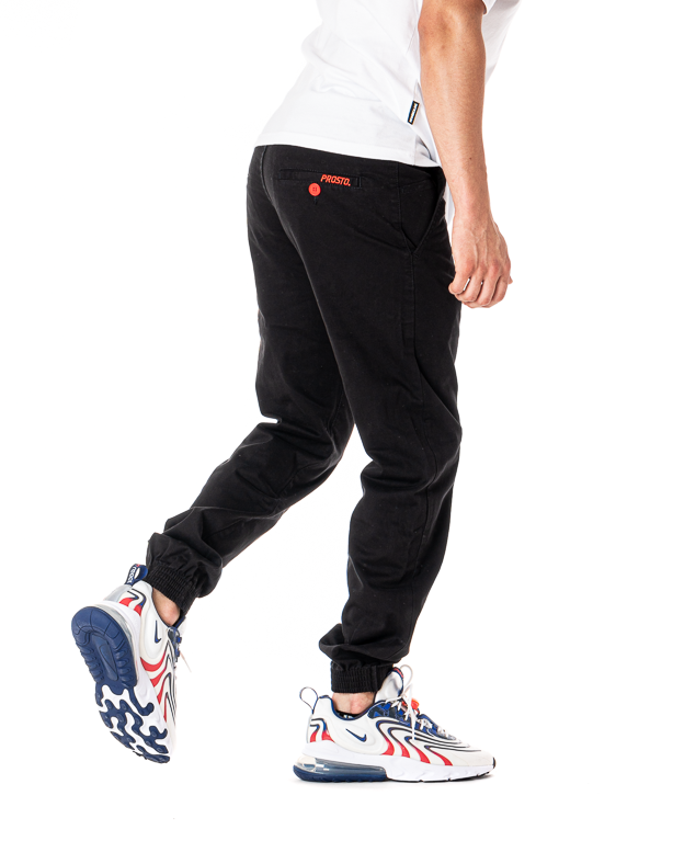 Spodnie Chino Jogger Prosto Call Black
