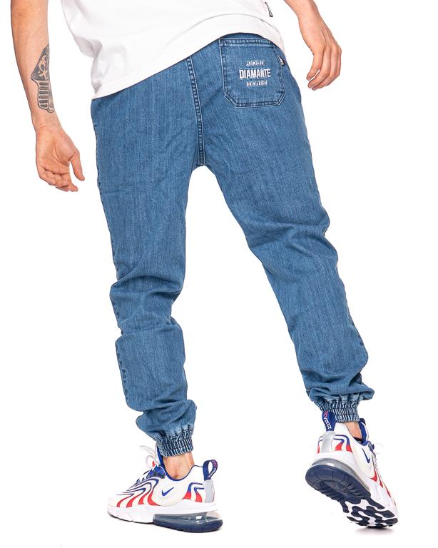 Spodnie Diamante Wear Jeans Jogger Rm Light