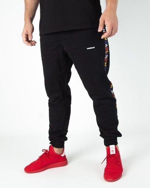 Spodnie Dresowe New Bad Line Tape Black
