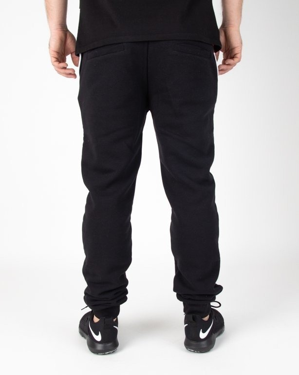 Spodnie El Polako Dresowe Fit Cut Color Black