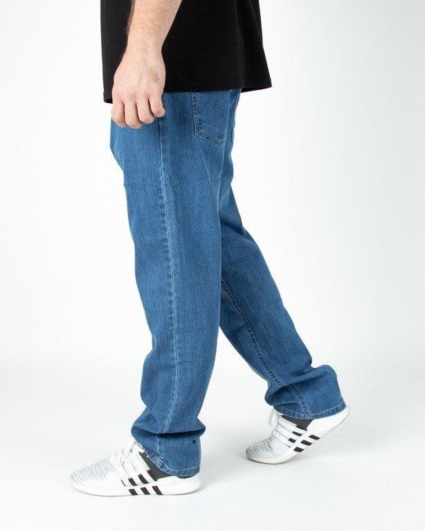 Spodnie El Polako Jeansowe Regular Handmade Light