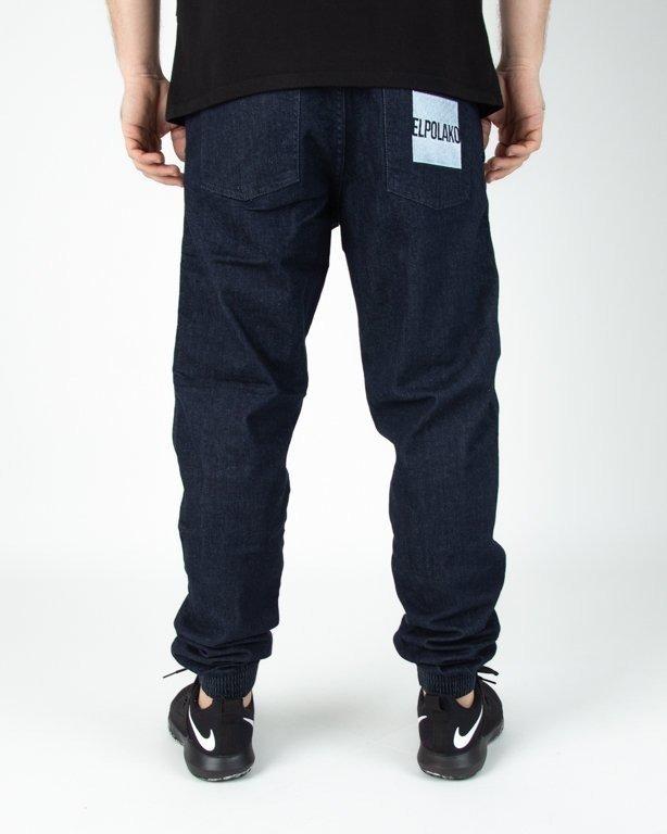 Spodnie El Polako Joggery Jeansowe New Box Dark