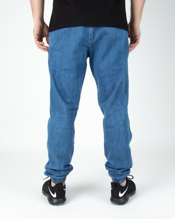 Spodnie El Polako Joggery Jeansowe Slim Classic Light