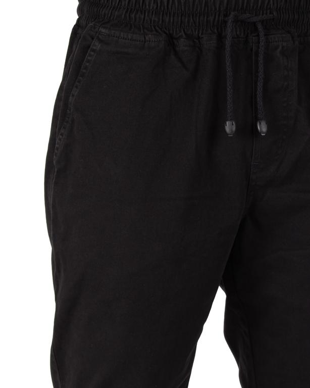 Spodnie Jogger New Bad Line Chino Drop Black