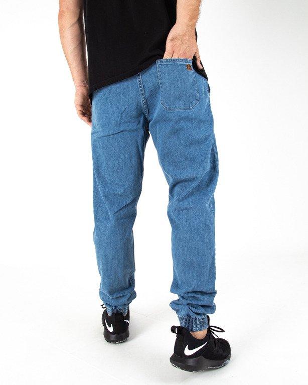 Spodnie Jogger Ssg Jeans Haft Slim Light