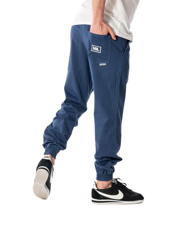 Spodnie Materiałowe Jogger New Bad Line Icon Morskie