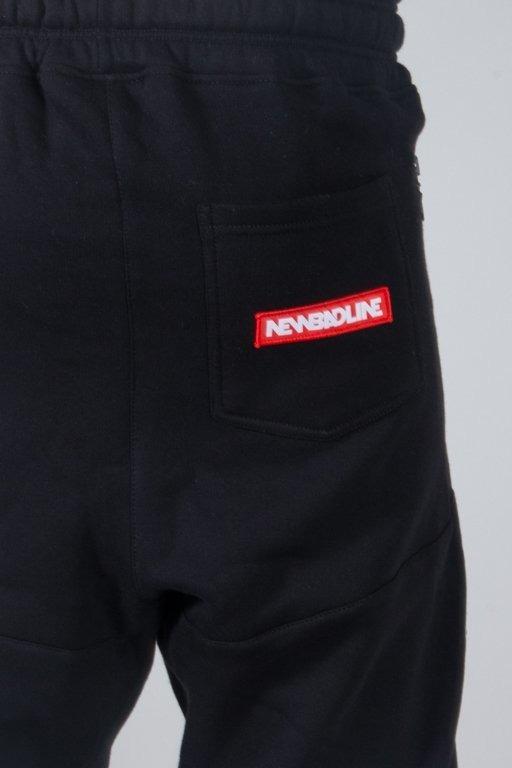 Spodnie New Bad Line Dresowe Swag Low Black