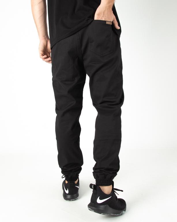 Spodnie Patriotic Chino Jogger Pelt Black