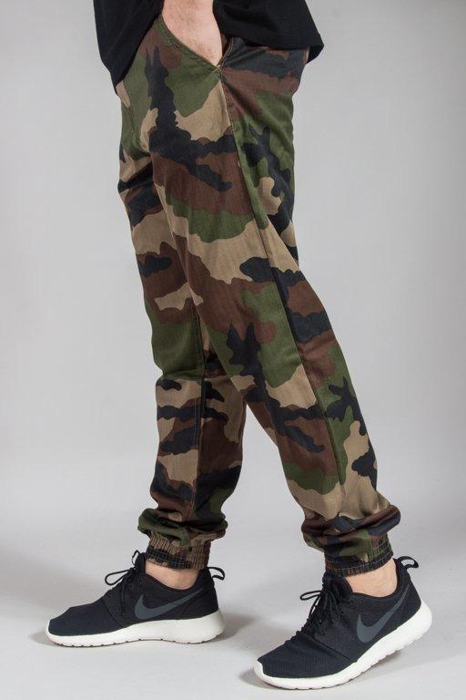 Spodnie SSG Chino Jogger Slim Klasyk Stars Camo