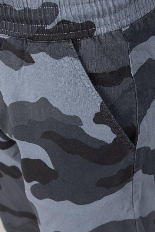 Spodnie SSG Chino Stretch Skinny Camo Grey