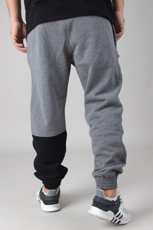 Spodnie SSG Dresowe Jogger One Side New Grey