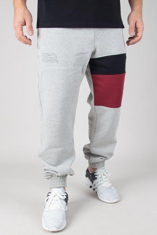 Spodnie SSG Dresowe Jogger Triple Melange