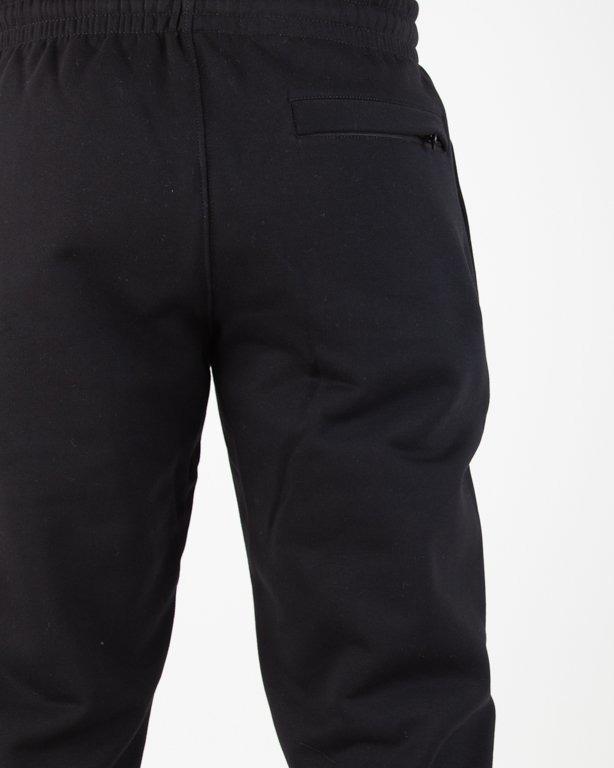 Spodnie SSG Dresowe Slim Cross Lines Black