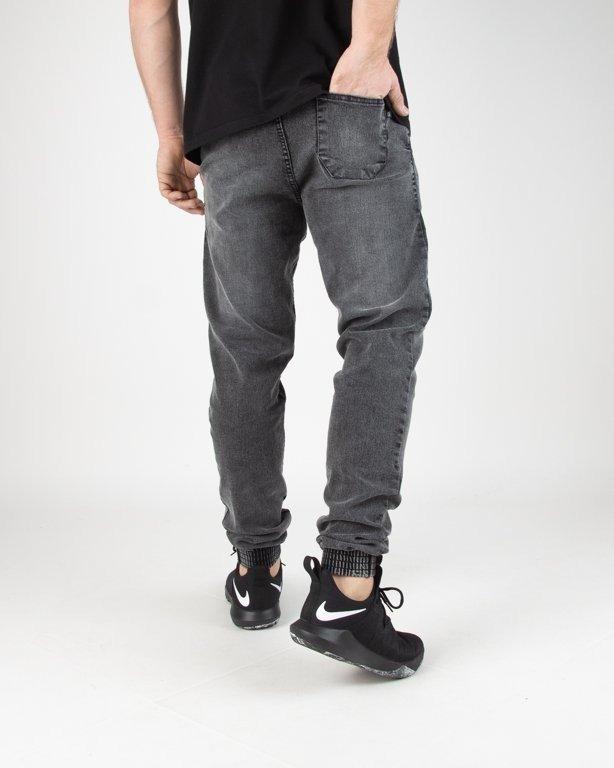Spodnie SSG Jeansy Jogger Slim Grey