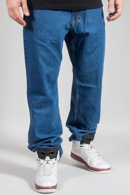 Spodnie SSG Jeansy Regular Pocket Dots Light