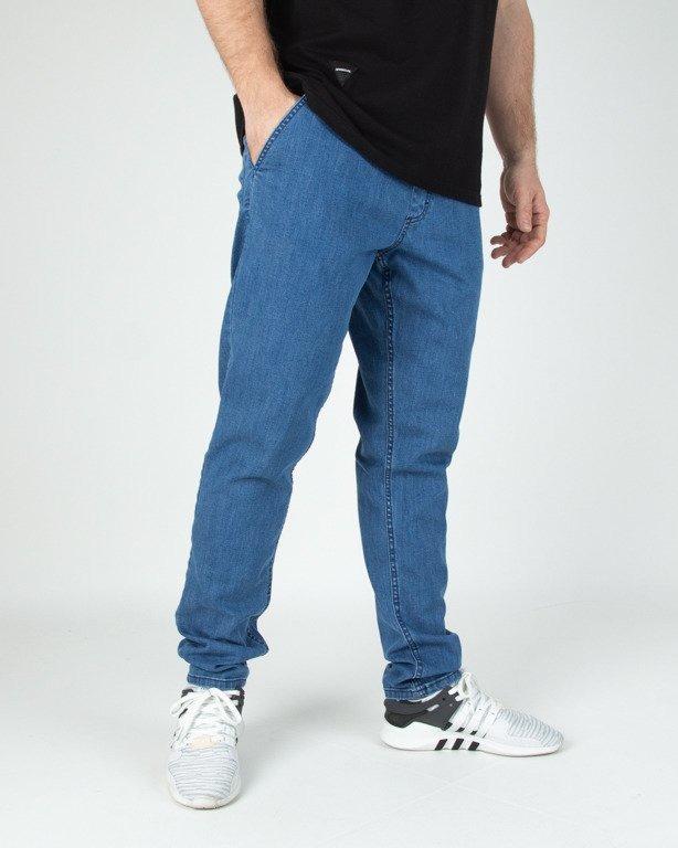 Spodnie SSG Jeansy Skinny Guma Light