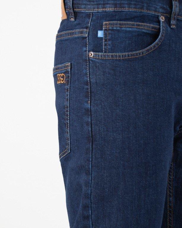 Spodnie SSG Jeansy Slim SSG Classic Haft Medium