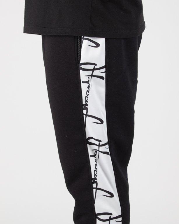 Spodnie Stoprocent Dresowe Jogger W-Linez Black