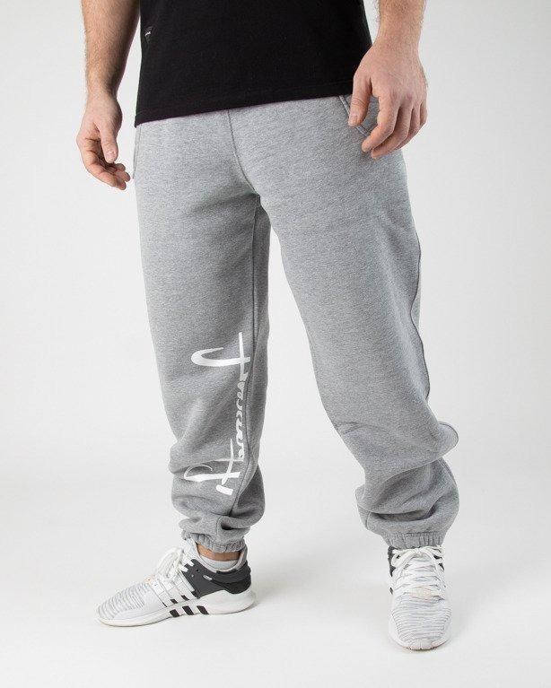 Spodnie Stoprocent Dresowe Slicetag Melange