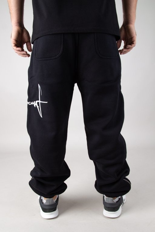 Spodnie Stoprocent Dresowe Tag18 Black