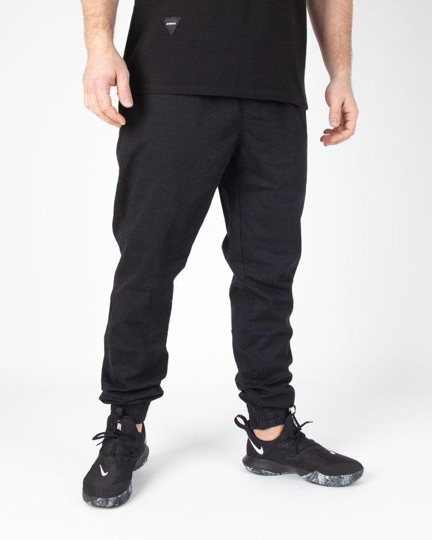 Spodnie Stoprocent Jogger Chino Classic19 Black