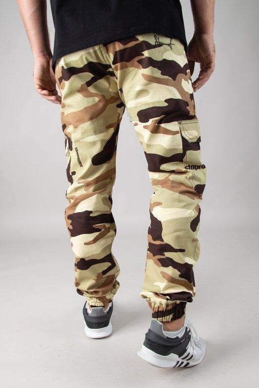 Spodnie Stoprocent Jogger Newarmy Camo Desert